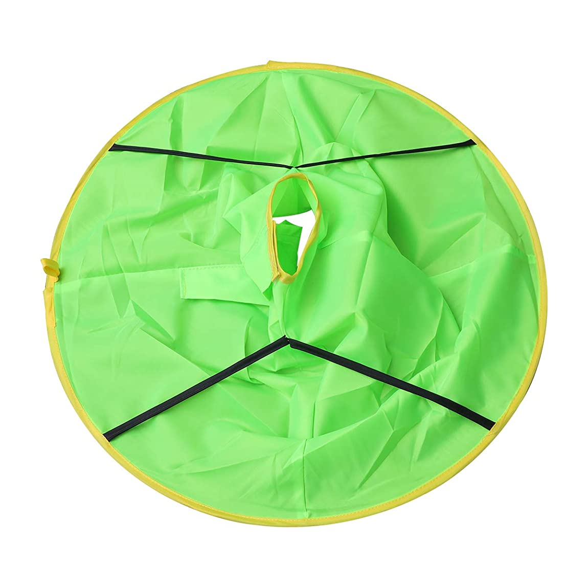 少し磁器着替えるHealifty ヘアカットケープヘアカットエプロンヘアスタイリングアクセサリー(グリーン)
