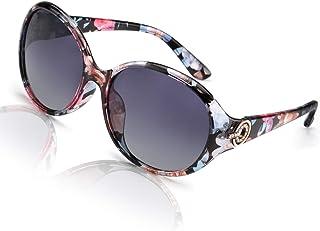 FIMILU Oversized Polarized Sunglasses for Women, 100% UV400 Protection Fashion Retro Anti-Glare...