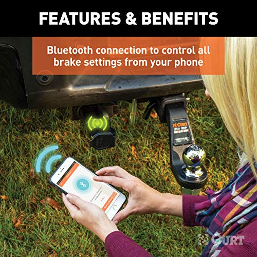 CURT 51180 Echo Mobile Electric Trailer Brake Controller