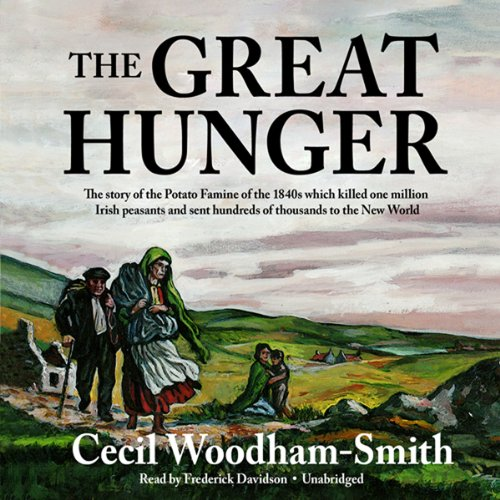The Great Hunger audiobook cover art