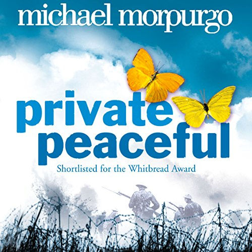 Private Peaceful                   By:                                                                                                                                 Michael Morpurgo                               Narrated by:                                                                                                                                 Jamie Glover                      Length: 4 hrs and 21 mins     206 ratings     Overall 4.7