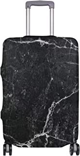 Mydaily Marble Rock Crack Lines Abstract Luggage Cover Fits 29-32 Inch Suitcase Spandex Travel Protector XL