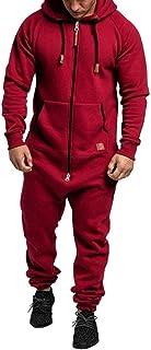 Men Jumpsuit Men Overall Men Rompers Sweat Jumpsuit Men Dungarees Body Suit Hoodies