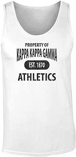 Kappa Kappa Gamma Athletic Department Tank Top by Fashion Greek