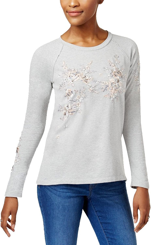 Style & Co...... Cotton Embellished Sweatshirt