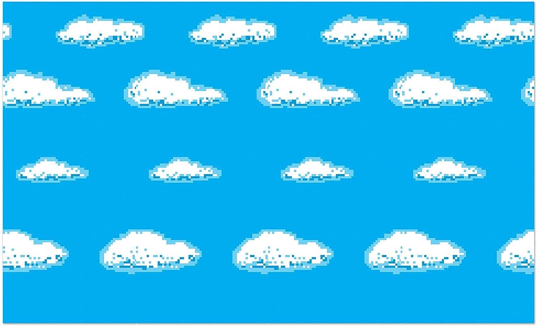 Beistle Sky 8-Bit Backdrop, 4' x 30'