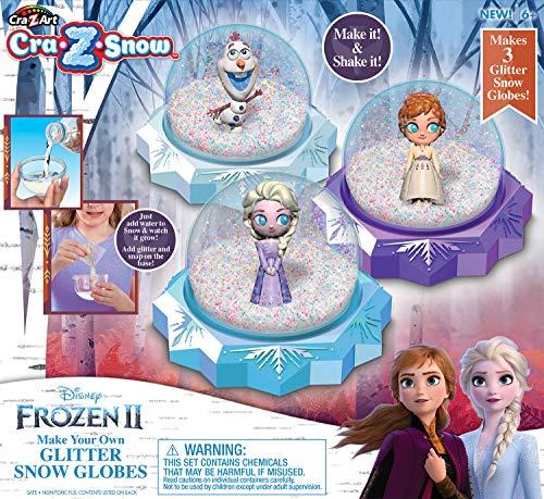 Cra-Z-Art Disney Frozen 2 CRA-Z-Snow Glitter Snow Globes