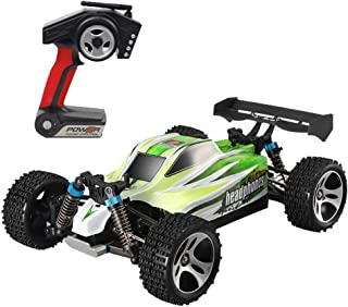 Starwak WLTOYS A959B Upgraded 540 Brush Motor High Speed 70km/h 1:18 4D 2.4G RC Car, Four-Wheel-Drive Remote Control Climbing Racing Vehicles Equipped with Professional Transmitter Easy to Handle