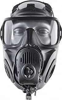 FM53 Full Face Respirator, Respirator Connection Type: Threaded, 6 pt. with Mesh Headnet Full Face S