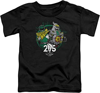 Trevco Power Rangers Green 25 Unisex Toddler T Shirt For Boys and Girls
