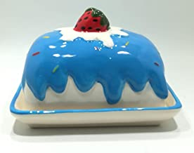 Dish Shaped Ice Cream For Nuts And Jelly - Blue - AS-F-194-BL