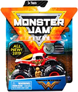 MJ Wonder Woman Monster Jam Diecast with Figure & Poster