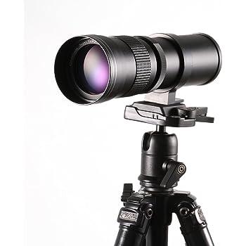 Super tele 420-800 mm para Canon EOS 600d eos 750d eos 760d eos 1300d nuevo! etc.