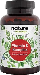B Vitaminer - 500 µg B12 per Kapsel - 200 Veganska Kapslar - Alla 8 B Vitaminer i Biotillgänglig Form
