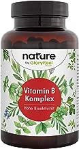 Vitamin B Komplex Bio-Aktiv - 200 Kapseln Höchstdosierter B-Komplex - Alle 8 B-Vitamine in bio-aktiven Formen - Höchste Bioverfügbarkeit - Vegan und Laborgeprüft - Herstellung in Deutschland