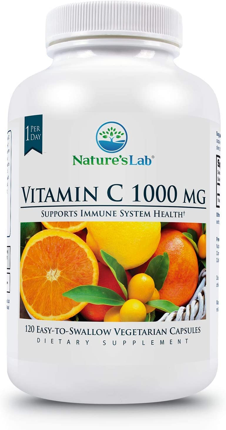 Ranking TOP11 Nature's Lab Vitamin C 1000mg Syste Immune -Supports sold out Per Capsule