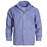 Gaudi Leathers Camisa de traje típico bávaro/tirolés para hombre con...