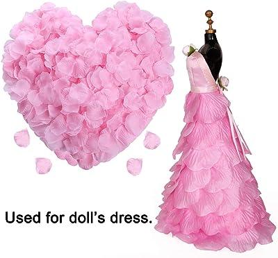 2000 noir /& blanc tissu fleurs//Mariage//Fête//Célébration//Fête Confettis Décoration