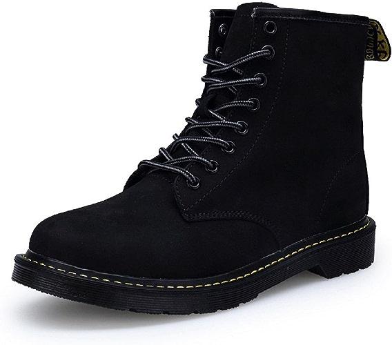 Homme Hiver Martin bottes De plein air Garder au chaud Chaussures décontractées Chaussures plates Bottes de neige Pied de prougeection Antidérapant EUR TAILLE 35-45