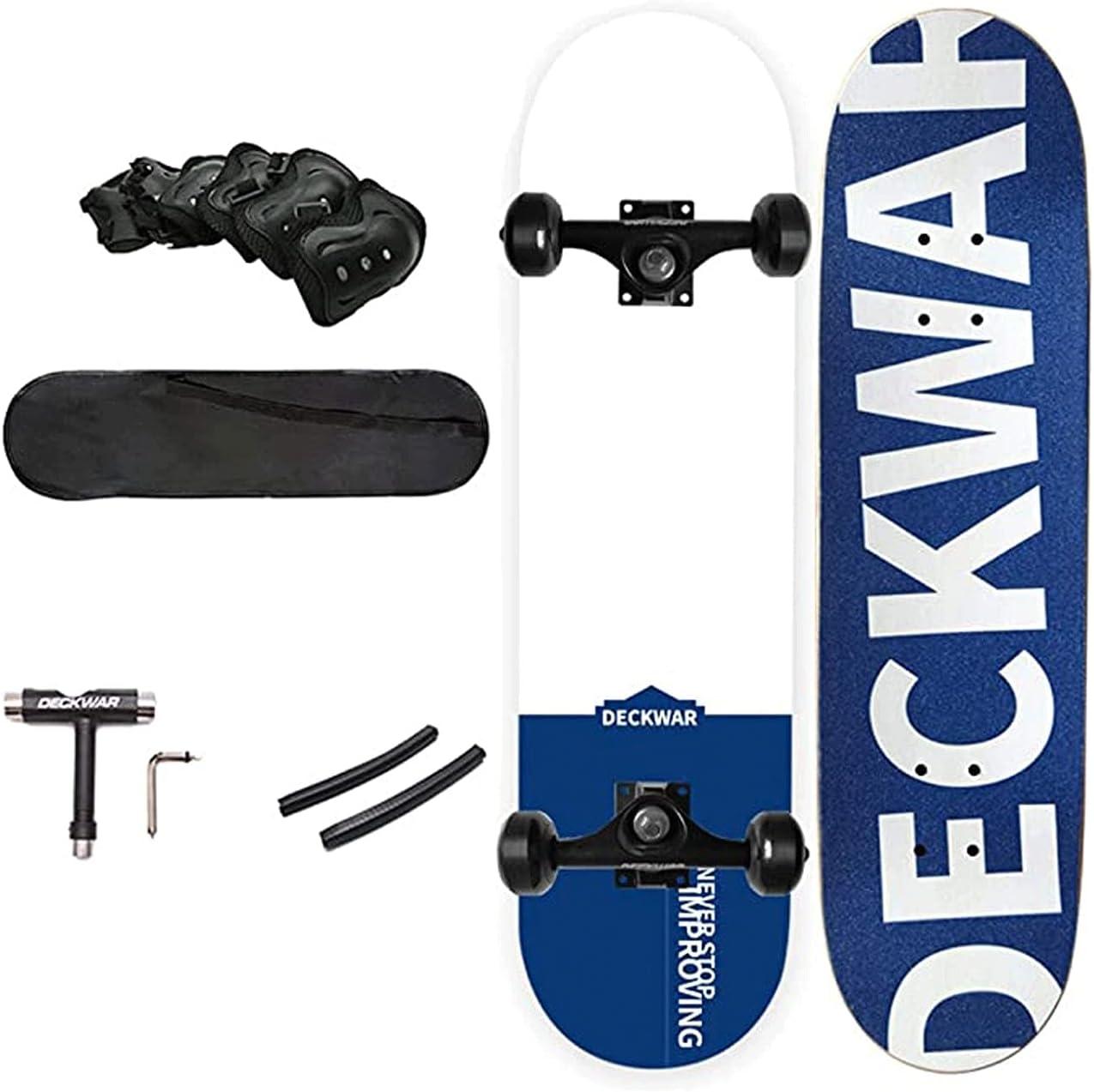 EEGUAI 31 inch Skateboard Double New mail order Cruiser Board Kick Skate Longbo cheap