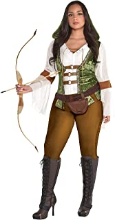 amscan Womens Robin Hood Huntress Adult