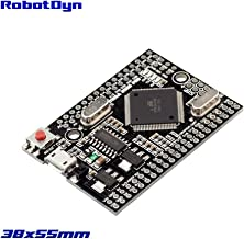 RobotDyn - Mega 2560 PRO (Embed) CH340G/ ATmega2560-16AU, Boards compatible with Arduino Pro Mini and Arduino Mega 2560, Embedded Mega2560 Pro board Compatible for Arduino Mega 2560 R3 with Bootloader