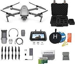 $2199 » DJI Mavic 2 Pro with DJI Smart Controller Drone Bundle, Landing Pad, 128GB SD Card, Waterproof Hard Carrying Case