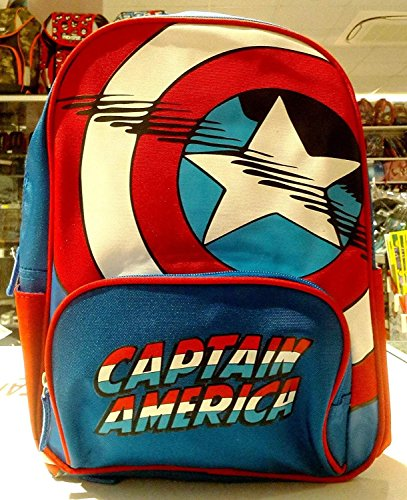 Sac à Dos Maternelle Enfants CAPTAIN AMERICA AVENGERS Marvel CAPTAIN Collection 2016/2017