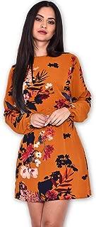 AX Paris Women's Polka Dot Crochet Waist Skater Dress