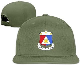 Emblem of Philippines Hip Hop Baseball Caps Snapback Hats