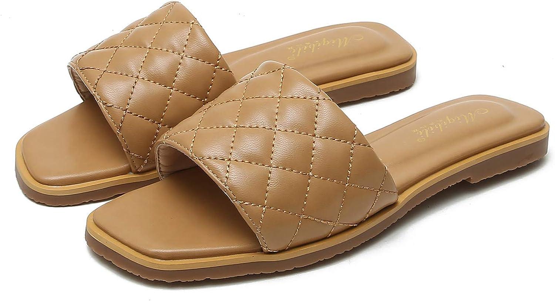 W.L.M Finally resale start Women Slides Sandal Flat Casual Stylish Portland Mall Sandals Open Toe