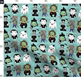 Geist, Hexe, Werwolf, Zombie, Vampir, Monster, Halloween