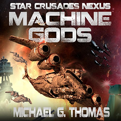Machine Gods audiobook cover art