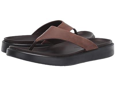 ECCO Flowt Lux Thong Sandal (Cocoa Brown) Men