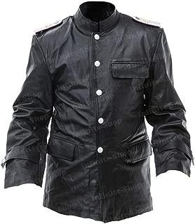 WW2 German Panzer ace Commander Michael Kriegsmarine Black Jacket