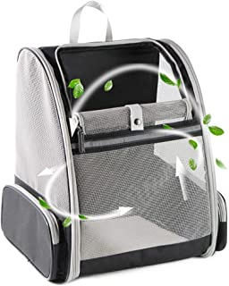 Texsens Airline Approved Pet Carrier, Soft-Sided Cat Travel Carrier for Cats and Small Dogs