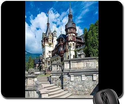 Mouse Pad - Peles Castle Brasov Carpathian Mountains Romania