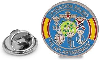 Gemelolandia   Pin de Solapa Operación Balmis Operación Militar 2020 25 mm Broche Pin de traje Unidades Militares España  ...