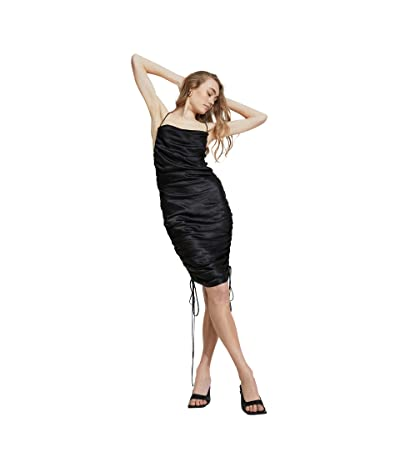 Bardot Gigi Rouched Slip Dress