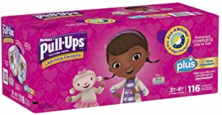 Learning Designs Pull-Ups for Girls (Size 3T-4T: 116ct, 32-40lbs)