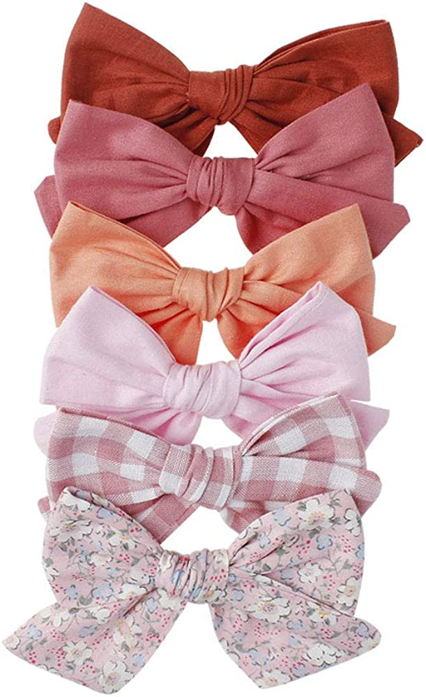 DCUTERQ Baby Girl Hair Clips Bows Barrettes Hair Accessories for Little Girls Toddler
