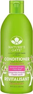 Nature's Gate Volumizing Conditioner, Awapuhi Ginger + Holy Basil 18 oz