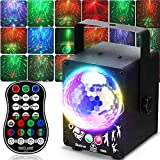 Party Lights, Led Dj Disco Lights With Sound Activated&Remote Control, 60 Light Effects, Usb Powered (Ul Plug), Timing, For Karaoke, Disco, Dj, Wedding, Dance, Holiday, Birthday, Parties, Party