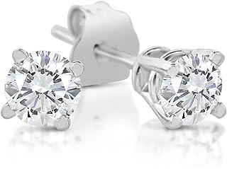 d9253d3bc 1/4ct tw Diamond Stud Earring in 14k White Gold (J-K, I2-