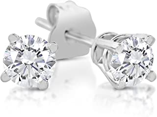 diamond nose stud sizes