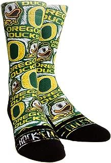 NCAA University of Oregon Custom Athletic Crew Socks