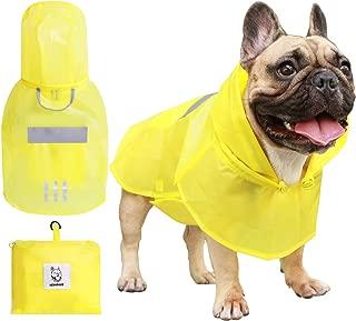 rain jackets for french bulldogs