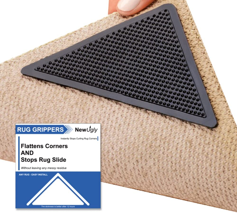 NewUgly Rug Gripper Max 54% OFF 4 PCS Non-Slip Carpet Upgraded New product Corner Gripp