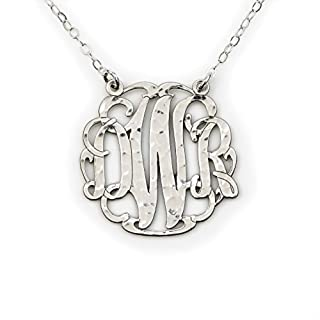 Best 3 initial monogram necklace 14k gold Reviews