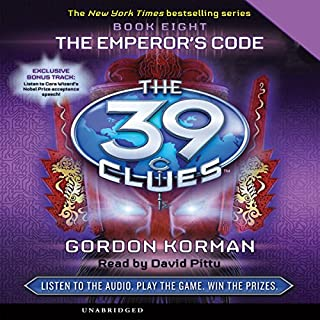 The 39 Clues, Book 8: The Emperor's Code audiobook cover art